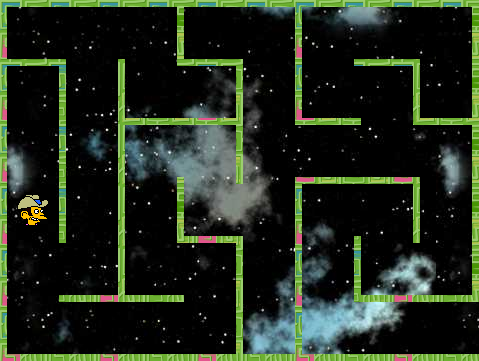 Maze game screenshot